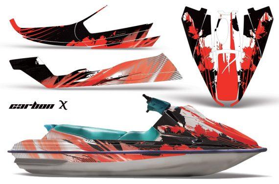 Sea-Doo-GTS-92-97-AMR-Graphics-Kit-CX-Red