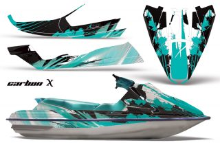 Sea Doo GTS 92 97 AMR Graphics Kit CX Teal 320x211 - Sea-Doo Bombardier GTS Sitdown Jet Ski 1992-1997 Graphics