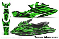 SeaDoo-GSX-96-99-CreatorX-Graphics-Kit-Tribal-Madness-Green