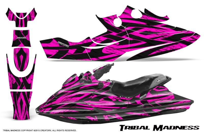 SeaDoo-GSX-96-99-CreatorX-Graphics-Kit-Tribal-Madness-Pink