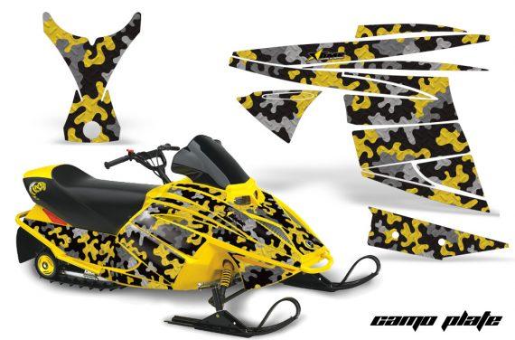 Ski Doo Mini Z AMR Graphics Kit CP Y 570x376 - Ski-Doo Mini Z Kids 2003-2008 Graphics