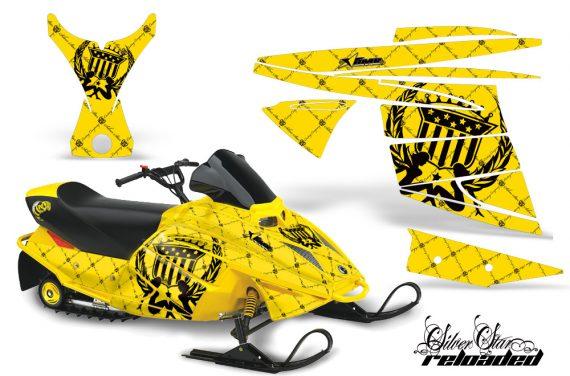 Ski Doo Mini Z AMR Graphics Kit SSR BY 570x376 - Ski-Doo Mini Z Kids 2003-2008 Graphics