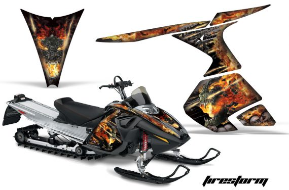 Ski Doo RT AMR Graphics Kit FS B 570x376 - Ski-Doo RT Mach Z Graphics