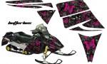 Ski Doo Rev AMR Graphics Kit BF PB 150x90 - Ski-Doo Rev Graphics