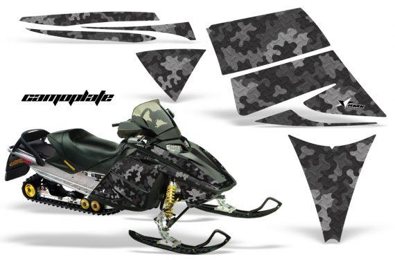 Ski Doo Rev AMR Graphics Kit CAMOPLATE Black 570x376 - Ski-Doo Rev Graphics