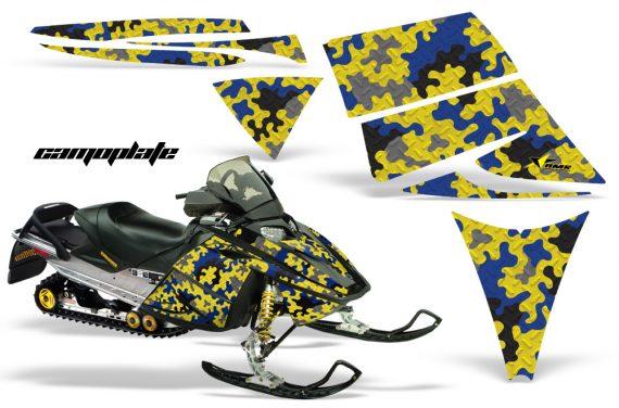 Ski Doo Rev AMR Graphics Kit CAMOPLATE Blue 570x376 - Ski-Doo Rev Graphics