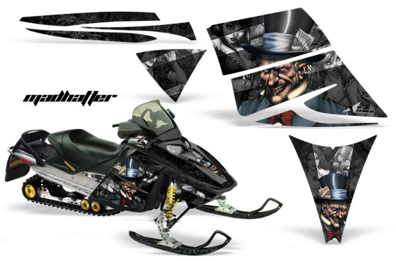 Ski Doo Rev AMR Graphics Kit MADHATTER BS 570x376 - Ski-Doo Rev Graphics