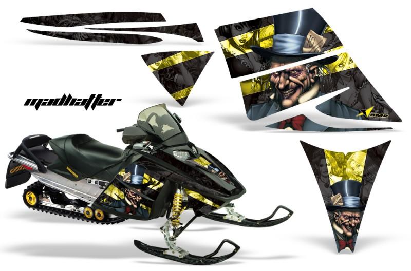 Ski-Doo-Rev-AMR-Graphics-Kit-MADHATTER-Yellow