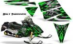 Ski Doo Rev CreatorX Graphics Kit Bolt Thrower Green 150x90 - Ski-Doo Rev Graphics