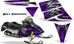 Ski Doo Rev CreatorX Graphics Kit Bolt Thrower Purple 150x90 - Ski-Doo Rev Graphics