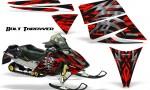 Ski Doo Rev CreatorX Graphics Kit Bolt Thrower Red 150x90 - Ski-Doo Rev Graphics