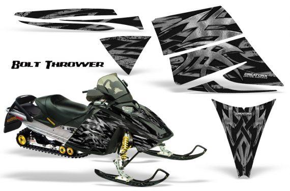 Ski Doo Rev CreatorX Graphics Kit Bolt Thrower Silver 570x376 - Ski-Doo Rev Graphics