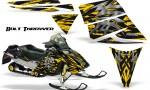 Ski Doo Rev CreatorX Graphics Kit Bolt Thrower Yellow 150x90 - Ski-Doo Rev Graphics