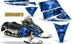 Ski Doo Rev CreatorX Graphics Kit Inferno Blue 150x90 - Ski-Doo Rev Graphics