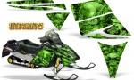 Ski Doo Rev CreatorX Graphics Kit Inferno Green 150x90 - Ski-Doo Rev Graphics