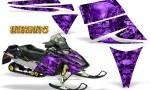 Ski Doo Rev CreatorX Graphics Kit Inferno Purple 150x90 - Ski-Doo Rev Graphics