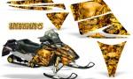 Ski Doo Rev CreatorX Graphics Kit Inferno Yellow 150x90 - Ski-Doo Rev Graphics