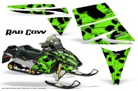 Ski-Doo-Rev-CreatorX-Graphics-Kit-Rad-Cow-Green
