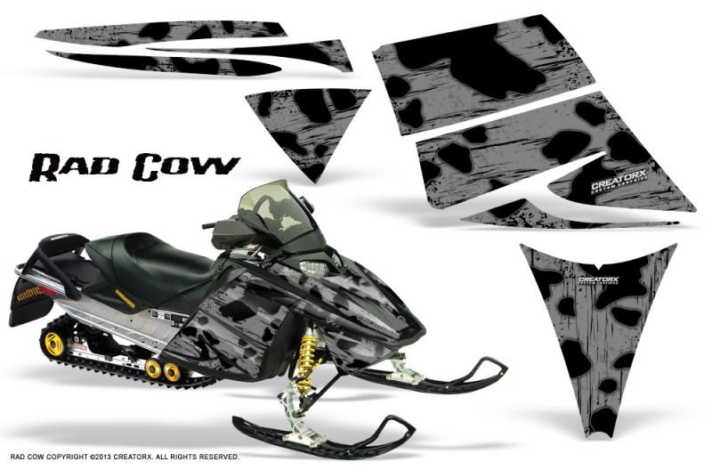 Ski-Doo-Rev-CreatorX-Graphics-Kit-Rad-Cow-Silver