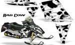 Ski Doo Rev CreatorX Graphics Kit Rad Cow White 150x90 - Ski-Doo Rev Graphics