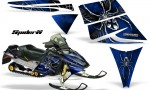 Ski Doo Rev CreatorX Graphics Kit SpiderX Blue 150x90 - Ski-Doo Rev Graphics