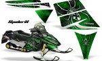 Ski Doo Rev CreatorX Graphics Kit SpiderX Green 150x90 - Ski-Doo Rev Graphics