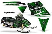 Ski-Doo-Rev-CreatorX-Graphics-Kit-SpiderX-Green