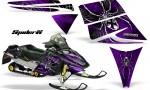 Ski Doo Rev CreatorX Graphics Kit SpiderX Purple 150x90 - Ski-Doo Rev Graphics