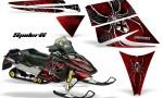 Ski Doo Rev CreatorX Graphics Kit SpiderX Red 150x90 - Ski-Doo Rev Graphics