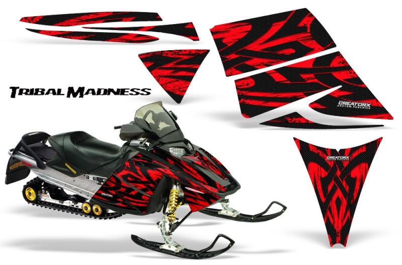 Ski-Doo-Rev-CreatorX-Graphics-Kit-Tribal-Madness-Red