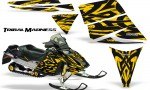 Ski Doo Rev CreatorX Graphics Kit Tribal Madness Yellow 150x90 - Ski-Doo Rev Graphics