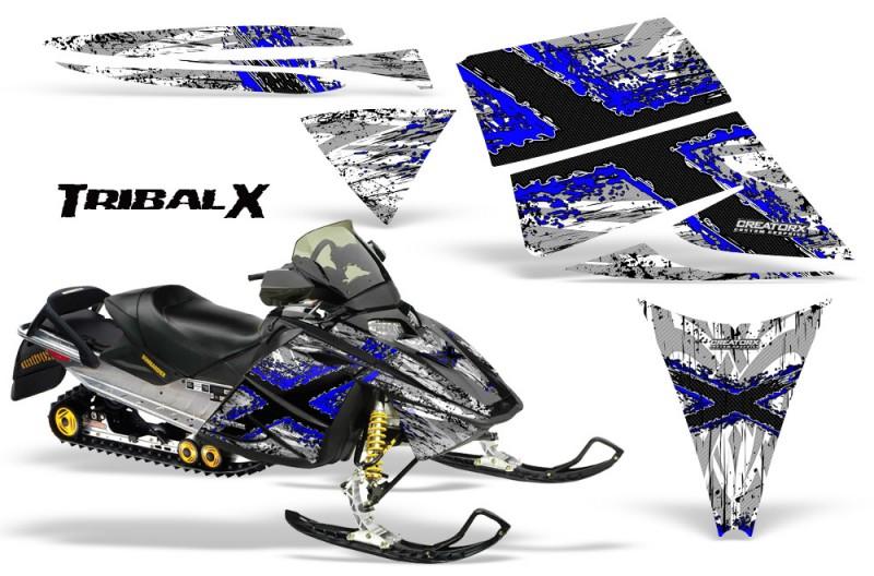 Ski-Doo-Rev-CreatorX-Graphics-Kit-TribalX-Blue-White