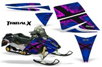 Ski-Doo-Rev-CreatorX-Graphics-Kit-TribalX-Pink-Blue