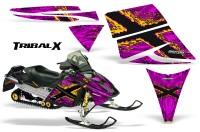Ski-Doo-Rev-CreatorX-Graphics-Kit-TribalX-Yellow-Pink