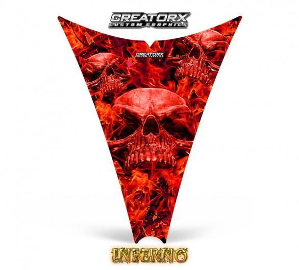 Ski-Doo-Rev-Hood-CreatorX-Graphics-Kit-Inferno-Red