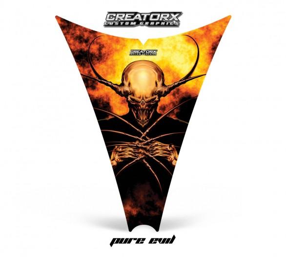 Ski-Doo-Rev-Hood-CreatorX-Graphics-Kit-Pure-Evil