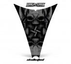 Ski-Doo-Rev-Hood-CreatorX-Graphics-Kit-Skullcified-Black