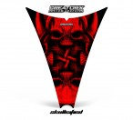 Ski-Doo-Rev-Hood-CreatorX-Graphics-Kit-Skullcified-Red