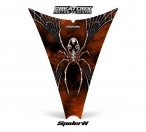 Ski-Doo-Rev-Hood-CreatorX-Graphics-Kit-SpiderX-Orange-Dark-Web