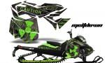 Ski Doo Rev XM Summit 2013 AMR Graphics Kit MD GB 150x90 - Ski-Doo Can-Am Rev XM 2013-2017 Graphics