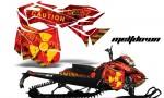 Ski Doo Rev XM Summit 2013 AMR Graphics Kit MD YR 150x90 - Ski-Doo Can-Am Rev XM 2013-2017 Graphics