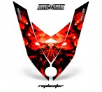Ski-Doo-Rev-XP-Hood-CreatorX-Graphics-Kit-Alien-Replicator-Red
