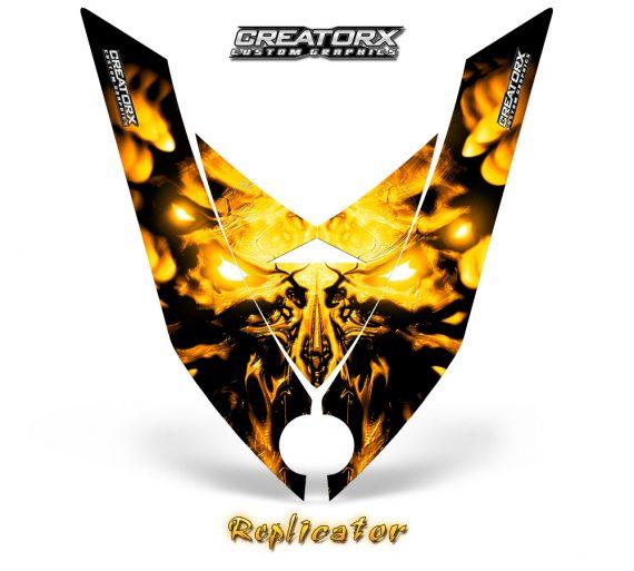 Ski-Doo Can-Am Rev XP Hood Graphics