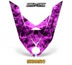 Ski-Doo-Rev-XP-Hood-CreatorX-Graphics-Kit-Inferno-Pink