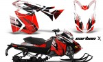 Ski Doo Rev XS MXZ Renegade 2013 AMR Graphics Kit CX R 150x90 - Ski-Doo Rev XS MXZ Renegade 2013-2016 Graphics