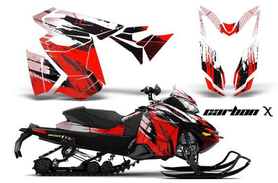Ski Doo Rev XS MXZ Renegade 2013 AMR Graphics Kit CX R 570x376 - Ski-Doo Rev XS MXZ Renegade 2013-2018 Graphics
