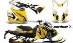 Ski Doo Rev XS MXZ Renegade 2013 AMR Graphics Kit CX Y 150x90 - Ski-Doo Rev XS MXZ Renegade 2013-2016 Graphics