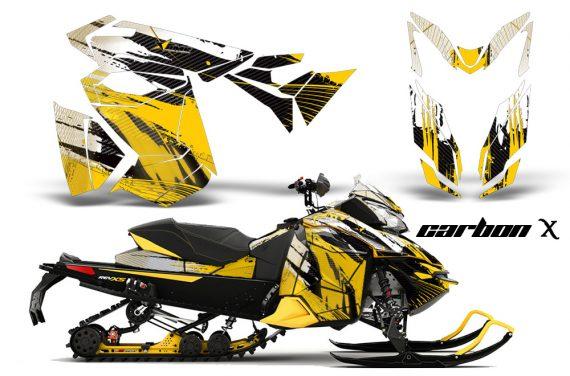 Ski Doo Rev XS MXZ Renegade 2013 AMR Graphics Kit CX Y 570x376 - Ski-Doo Rev XS MXZ Renegade 2013-2018 Graphics
