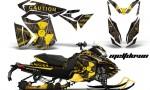 Ski Doo Rev XS MXZ Renegade 2013 AMR Graphics Kit MD YB 150x90 - Ski-Doo Rev XS MXZ Renegade 2013-2018 Graphics