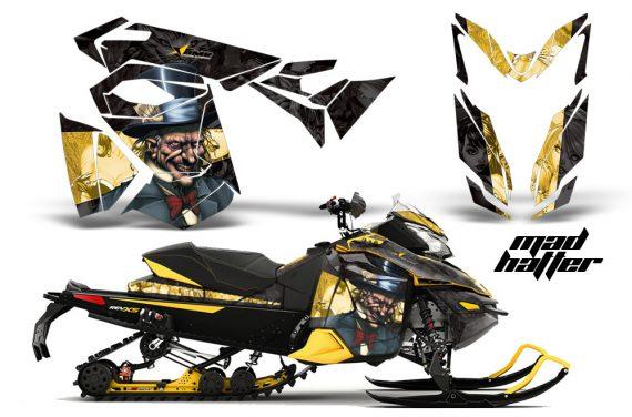 Ski Doo Rev XS MXZ Renegade 2013 AMR Graphics Kit MH BY 570x376 - Ski-Doo Rev XS MXZ Renegade 2013-2018 Graphics